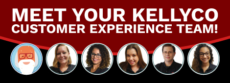 Meet Your Kellyco Customer Experience Team!