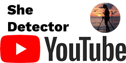 Youtube Logo with She Detector in Black Text Above and She Detector Youtube Image on Right Side