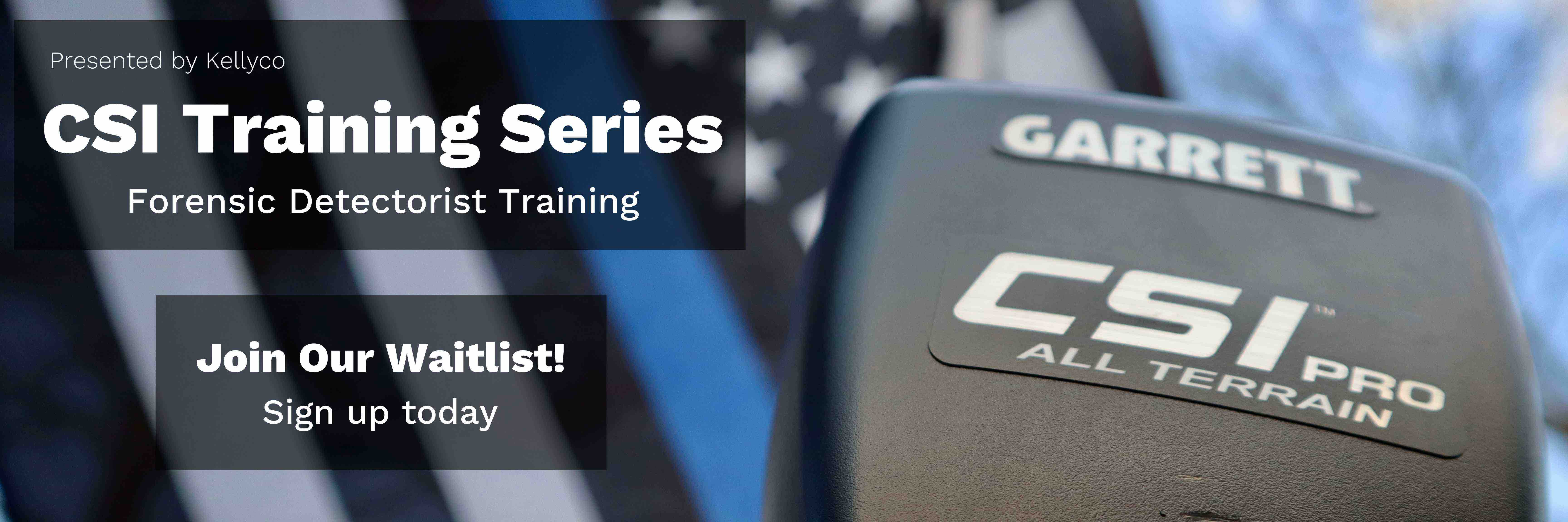 CSI Training Series at Kellyco - Sign up Today