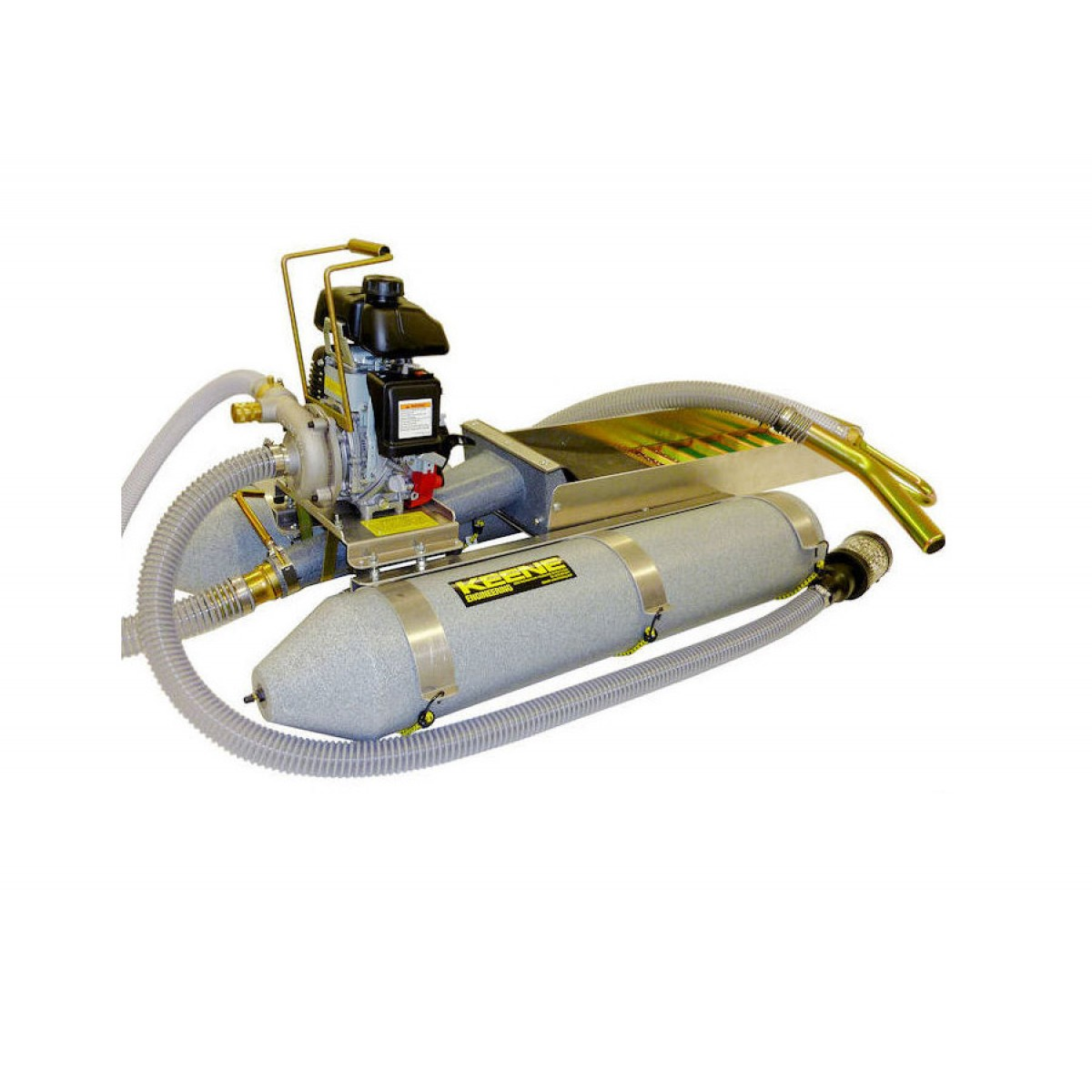 Keene Backpack Dredge with Power Sluice Conversion and Suction Nozzle