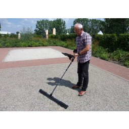 Older man testing OKM Fusion Professional Plus with Tablet PC at OKM Headquarters in Germany