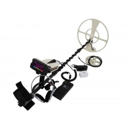 OKM Black Hawk R3 Complete Kit Metal Detector shown with accessories from Kellyco Metal Detectors