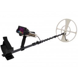 Full view of OKM Black Hawk R3 Complete Kit Metal Detector on white background