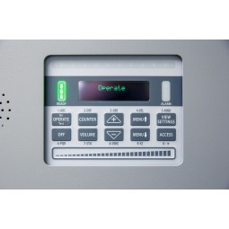 Garrett MZ 6100 Walk Through Metal Detector Control Panel