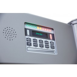 Garrett MZ 6100 Walk Through Metal Detector Control Panel Side View
