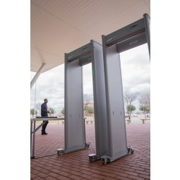 Garrett MZ 6100 Walk Through Metal Detector Set Up