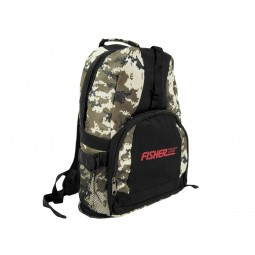 Fisher Camouflage Backpack FCBACKPACK Image 2