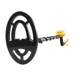 Garrett ACE 200 metal detector coil and arm