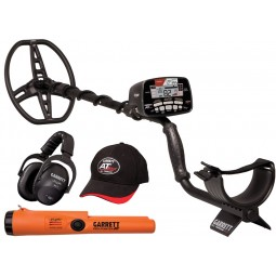 Garrett AT Max Metal Detector / Pro-Pointer AT Z-Lynk Special shown with accessories from Kellyco Metal Detectors
