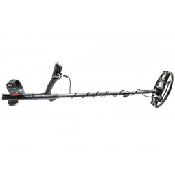 Nokta Makro ANFIBIO Multi Metal Detector shown in full profile on white background