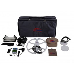 Nokta Makro FORS Gold Metal Detector Pro Package carrying case and all accessories from Kellyco Metal Detectors