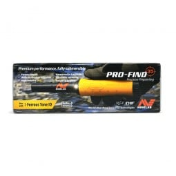 Manufacturer box for Minelab Pro-Find 35 Pinpointer