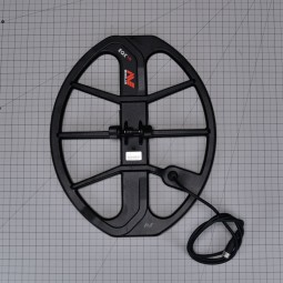 """Minelab 15"""" DD Smart Coil for Minelab Equinox 600 and 800 on one inch grid"""