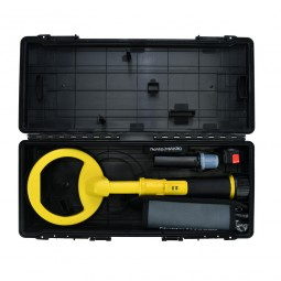 Open case with all components for Nokta Makro PulseDive 2-in-1 Scuba Detector and Pinpointer