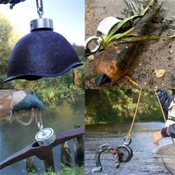 Objects found while magnet fishing