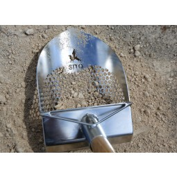200mm Standard Sand Scoop with Sharp Front (V1)