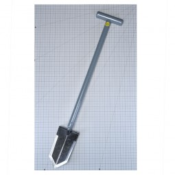 "Lesche Sampson 31"" T-Handle Shovel on one inch grid"
