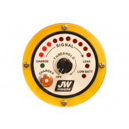 Closeup of Faceplate on JW Fishers SAR-1 Search and Recovery Metal Detector