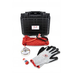 Brute Magnetics Brute Box 575 lb Magnet Fishing Bundle with Gloves