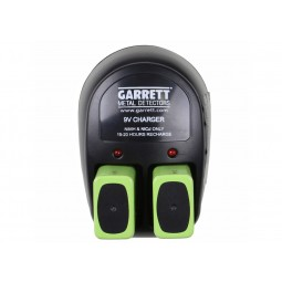 Garrett Pro 9V Recharge Kit with Charger and (2) 9V Ni-MH Batteries 1612000 Image 2