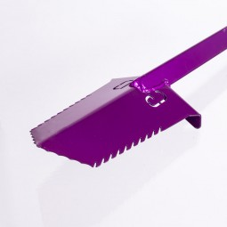 "Grave Digger Tools 36"" Nemesis Illusion Violet T-Handle Shovel"