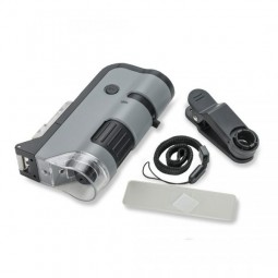 Carson MicroFlip Pocket Microscope with Accressories