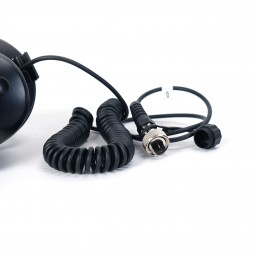 MS-2 Wired Headphones for Garrett AT Gold Metal Detector on White Background