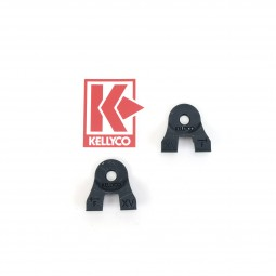 """Kellyco Ear Muffs for 15"""" EQX Equinox Search Coil from Minelab on White Background"""