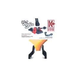 """Back of Kellyco Ear Muffs for 11"""" EQX Equinox Search Coil"""