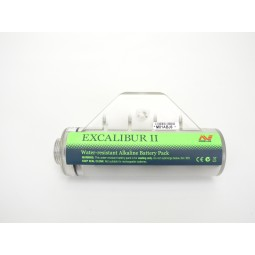 Used - Minelab Excalibur II Alkaline Battery