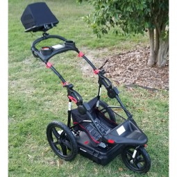 Easy Radar USA Deluxe Ground Penetrating Radar Cart System on the grass