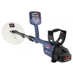 Minelab GPZ 7000 Metal Detector shown at an angeled view