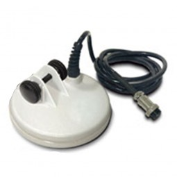 """Fisher 5"""" Round DD Search Coil for F70 and F75 Metal Detectors with cable"""