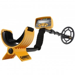 Full view of Garrett ACE 300 55-Year Anniversary Special Metal Detector starting at arm rest