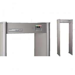Garrett MZ 6100 Walk Through Metal Detector Control Panel Top and Side View