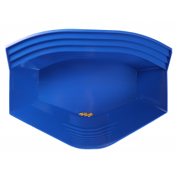 Gold Claw Blue Production Pan with gold
