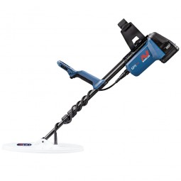 """GPX 6000 Metal Detector with 14"""" Coil on White Background"""