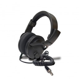"""Fisher 1/4"""" Wired Headphones on White Background"""