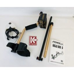 Used - Fisher Gold Bug 2 Metal Detector