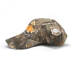 Kellyco Realtree Camo Hat with Orange Logo
