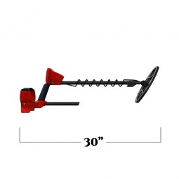 Minelab Vanquish 440 Metal Detector measured 30 inches in length
