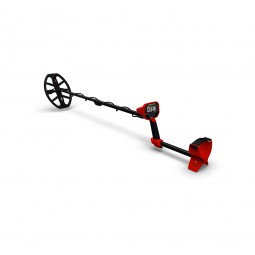 Minelab Vanquish 540 Metal Detector positioned on a neutral background
