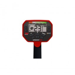 Buttons on the LCD screen of the Minelab Vanquish 540 Pro-Pack Metal Detector