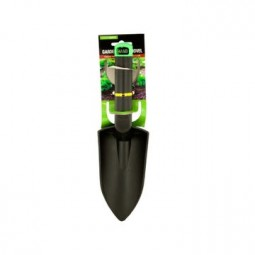 Kellyco Composite Hand Trowel - Black with Green Hanging Hole
