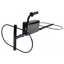 Angled view of White's TM 808 Specialty Metal Detector