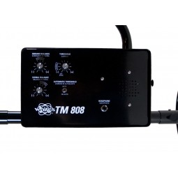 Closeup of control box on White's TM 808 Specialty Metal Detector
