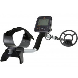 White's TREASUREmaster Metal Detector shown in full on a white background
