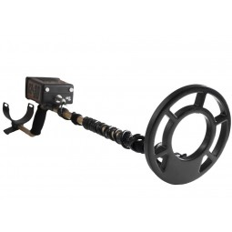 """Fisher CZ-3D Metal Detector in full view with closeup of 8"""" Search Coil"""