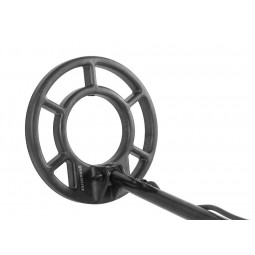 """Closeup of 8"""" Search Coil on Fisher CZ-21 Metal Detector"""