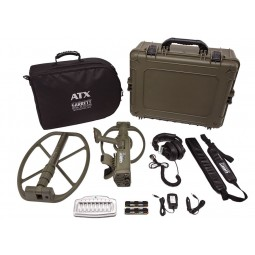 Garrett ATX Pro DeepSeeker Package shows case and all accessories